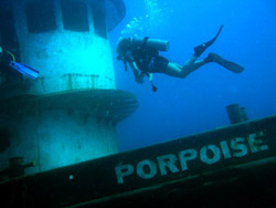 wreck diving st maarten